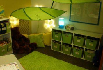 privacidade cantos no jardim de infância: características de registo, nomeação