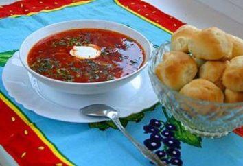 Cómo cocinar sopa con carne en Ucrania