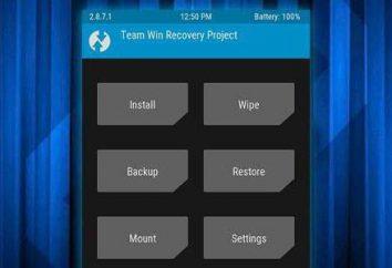 TWRP – lo que es y cómo usarlo?