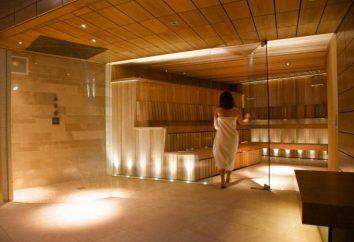Regras de conduta no banho e sauna