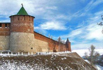 Nizhny Novgorod Kremlin: cattedrali, torri, la storia