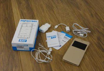 Smartphone Highscreen Bay: recenzje i funkcje