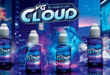 liquide Franzuzskaya pour les cigarettes électroniques VG Cloud: essayez le merveilleux goût sucré