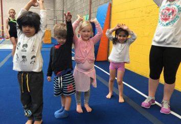 El propósito de gimnasia por la mañana en el jardín de infantes