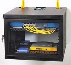19 ścianki szafy: Sprzęt sieci telekomunikacyjnej dla boksu