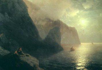 """poema característico de su análisis: """"A la mar"""", Pushkin"""