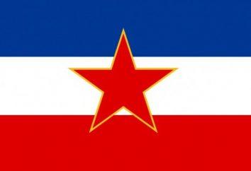 Yougoslavie histoire de drapeau