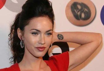 Interessante Fakten über die Sterne: Tätowierung Megan Fox