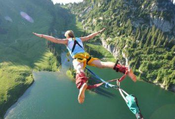 Jak nazywa skok z mostu z gumką i co trzeba dla niej?