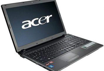 Acer Aspire 5560 Notebook: specyfikacje, opinie