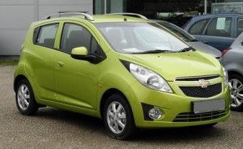 Chevrolet Spark – une voiture de ville miniature