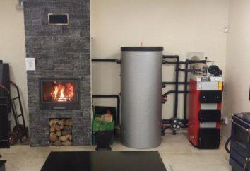 calderas de combustión superiores: es decir, los tipos, principios de funcionamiento
