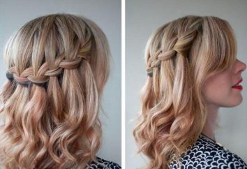 coiffure Belle pour les cheveux moyen de ses propres mains: idées intéressantes, options et recommandations