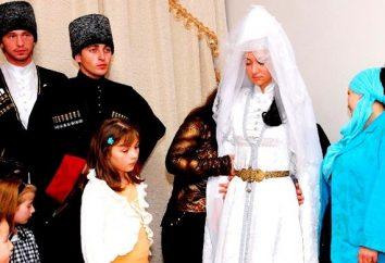 boda Kabardinian: tradición y modernidad