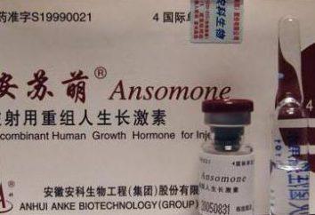 """""""Ansomon"""": commentaires. Comment prendre correctement """"Ansomon"""""""
