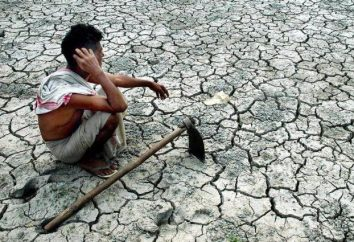 La sécheresse – le phénomène est pas mystérieux, mais la façon de traiter avec elle ne sait pas encore à l'homme
