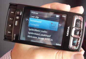 Smartphone Nokia N95 8 Go: caractéristiques générales, mode d'emploi