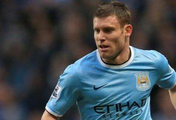 Dzheyms Milner: carrera mejor jugador joven en 2010 y el centrocampista excepcional de Inglaterra