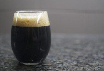 bière Stout: histoire, types
