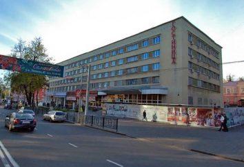 Oktyabrskaya Hotel, Kursk, Rússia: descrição, quartos e comentários