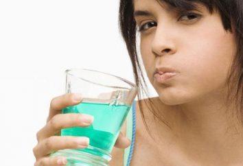 Płukania jamy ustnej po ekstrakcji zęba