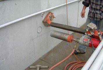 Bohrungen in Beton: die notwendige Ausrüstung und Technik