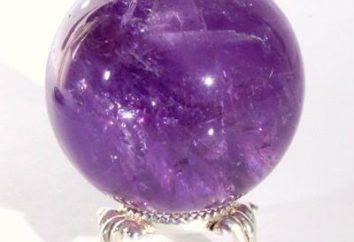 Ametyst. Zodiak, magia z kamienia naturalnego