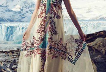 Como a costurar um vestido no estilo de Boho: Padrão. vestido feito malha no estilo do boho