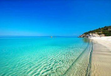 Isola Halkidiki: foto, descrizione