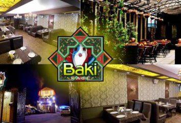 """Cafe """"Baku"""" (Bryansk) – für einen luxuriösen Aufenthalt"""