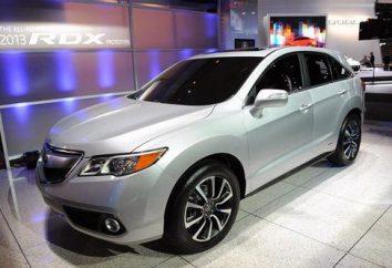 Samochód Acura RDX. Przegląd