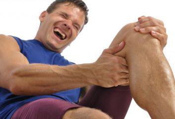 Środki z skurcze w nogach: tabletek i innych leków