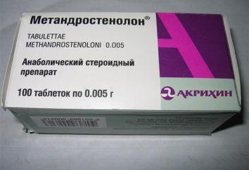 """""""Methandrostenolone"""": instrukcje stosowania leku, kompozycja"""