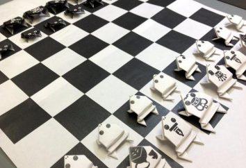 Wie Schach mit seinen eigenen Händen zu machen?