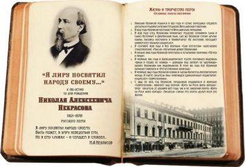 Opere NA Nekrasov:. Temi principali. Lista delle migliori opere di Nekrasov