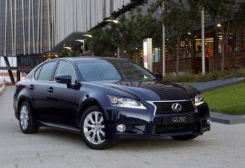 Auto Lexus GS 250: Bewertungen, Beschreibungen, Spezifikationen und Bewertungen