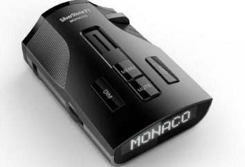 Radar detektor SilverStone F1 Monaco: opinie, opis, opis i charakterystyka