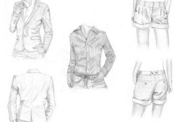 Jak narysować ubrania. Kilka porad dla początkujących projektantów mody