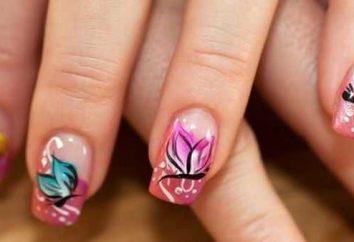 Farfalla sulle unghie rendono penna ideale!