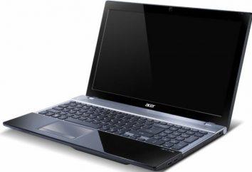 Laptop Acer V3-551G: opis, dane techniczne, opinie