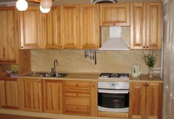 Zestaw kuchenny z drewna ręcznego: zdjęcie