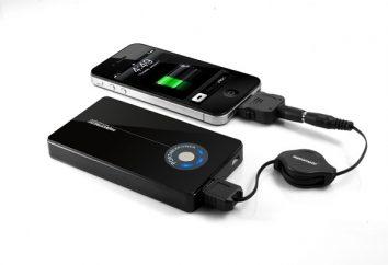 Zewnętrzna bateria dla telefonu: kryteria selekcji i jak używać