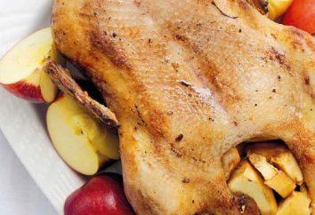 Comment faire cuire un délicieux canard aux pommes pour la table de vacances?