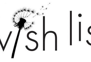 Desiderio liste: creare una lista di desideri e regali