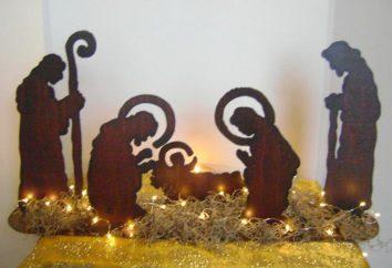 cena da natividade do Natal com as mãos: uma master class. Como fazer um presépio feito de papel com as mãos?