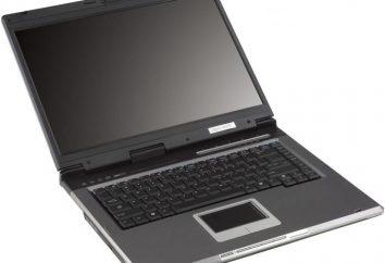 Laptop Asus A6R: revisión del modelo, foto