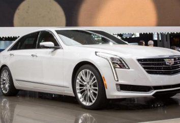 Cadillac CT6: charakterystyka techniczna luksusowy sedan
