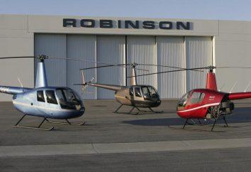 """Helicóptero """"Robinson"""": características, fotos, velocidade. Voar em um helicóptero """"Robinson"""""""