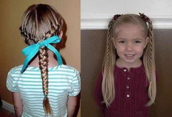 Jak wybrać fryzurę dla dziewczyn na każdy dzień