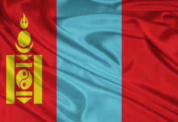 Braccia, inno e bandiera Mongolia